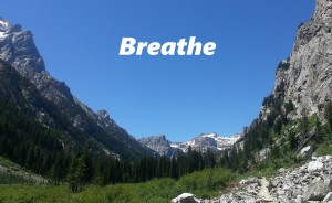 Breathe Grand Teton Canyon sides